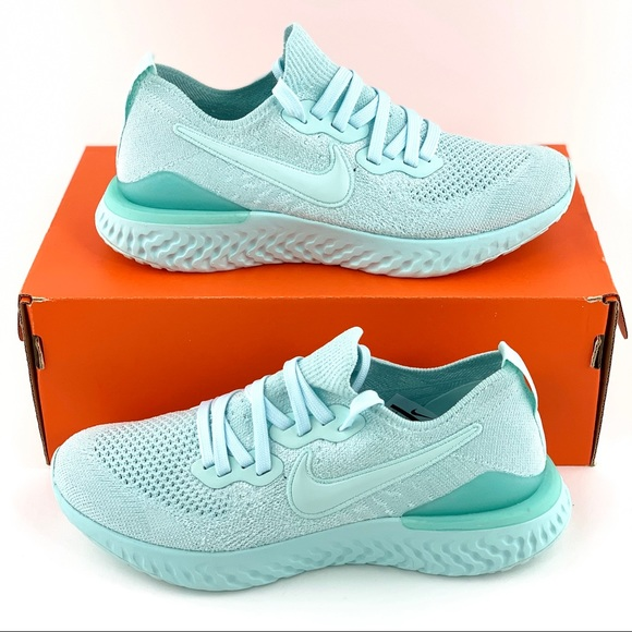 New Nike Epic React Teal Tint Sneakers